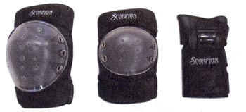 Купить Комплект защиты Scorpion Deluxe Youth 3 предмета, Защита, 344960