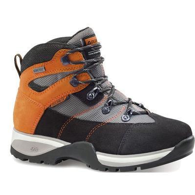 Купить Ботинки для треккинга (высокие) Dolomite 2014 Junior FLASH PLUS GTX ANTRACITE-ORANGE Треккинговая обувь 1015623