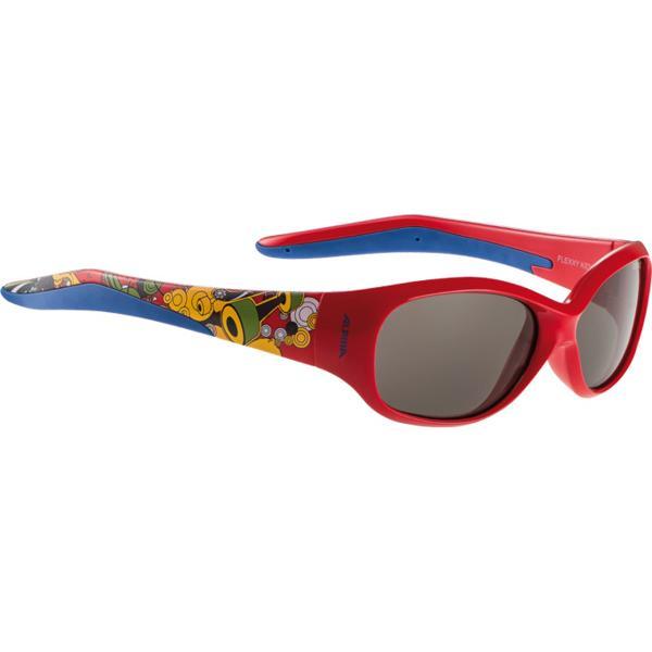 Купить Очки солнцезащитные Alpina JUNIOR / KIDS Flexxy Kids red print/black S3, солнцезащитные, 1131865