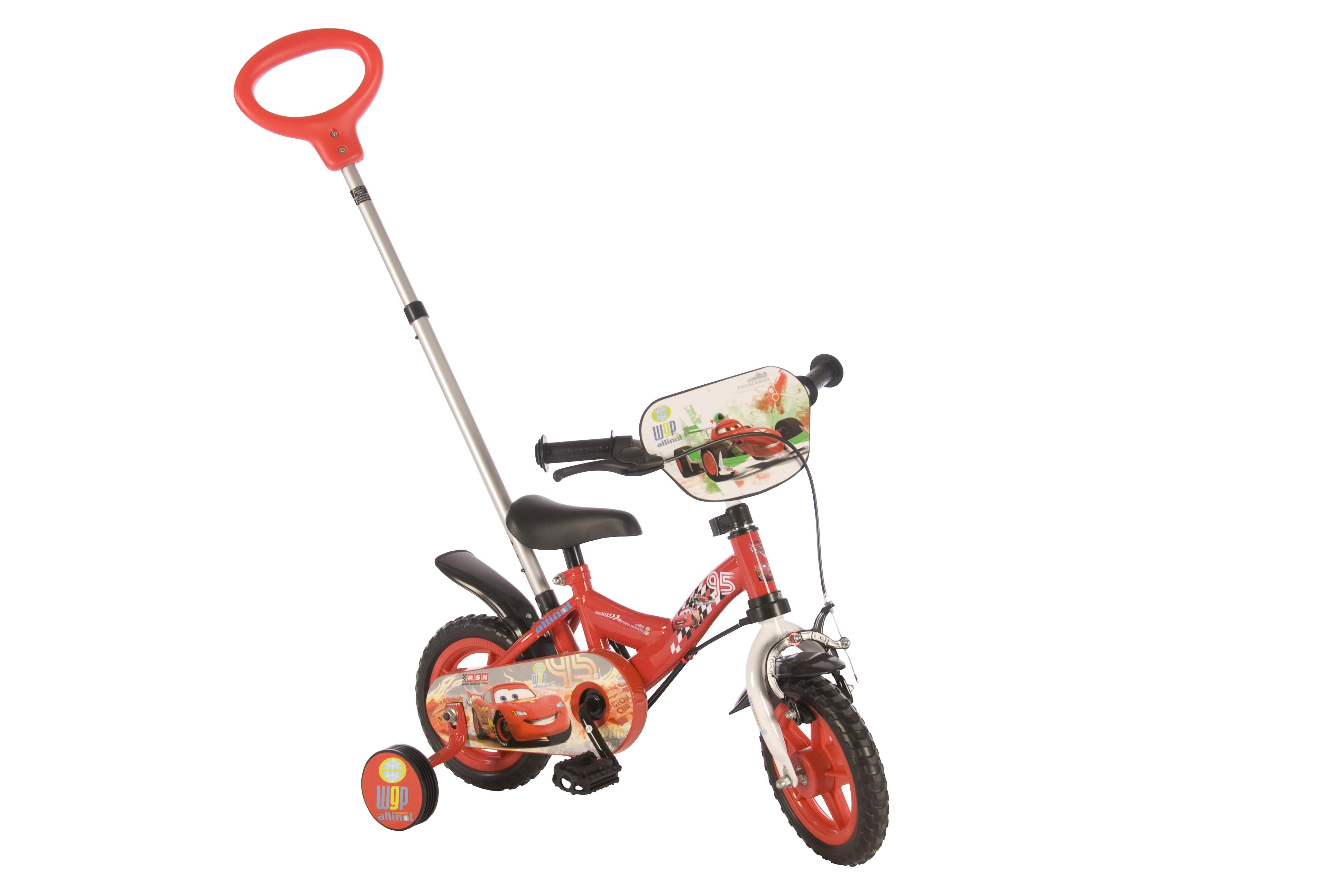 Велосипед Volare Disney Cars 2014 Красный