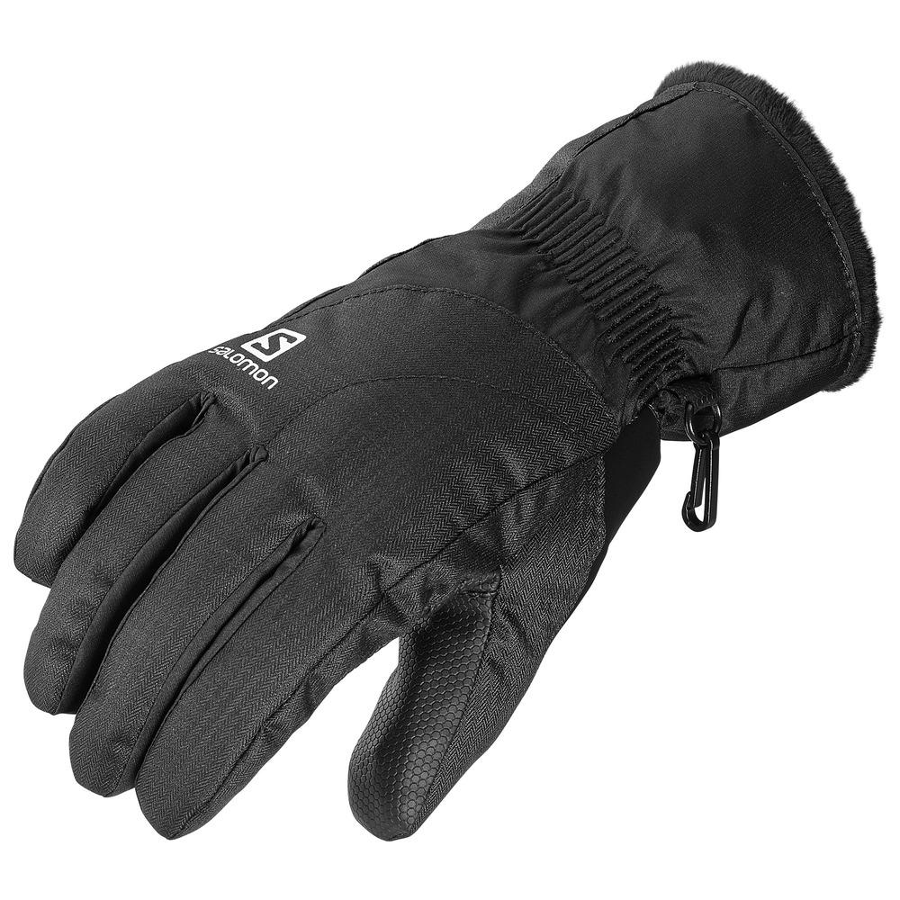 женские перчатки salomon