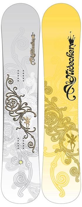Купить Сноуборд NIDECKER 2008-09 Angel, доски, 469426