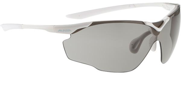 Купить Очки солнцезащитные Alpina PERFORMANCE SPLINTER SHIELD VL white/VARIOFLEX black S2-3, солнцезащитные, 1131705