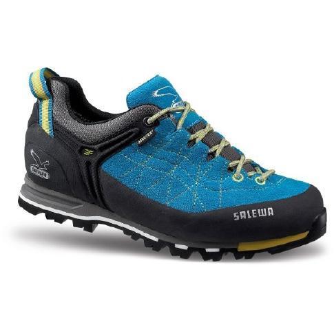 Купить Ботинки для альпинизма Salewa Alpine Approach WS MTN TRAINER GTX pagoda-citro, Альпинистская обувь, 842488