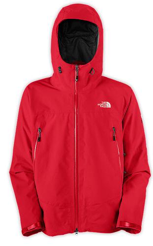Купить Куртка туристическая THE NORTH FACE 2012-13 Summit M POINT FIVE JACKET (Red) красный Одежда 851403
