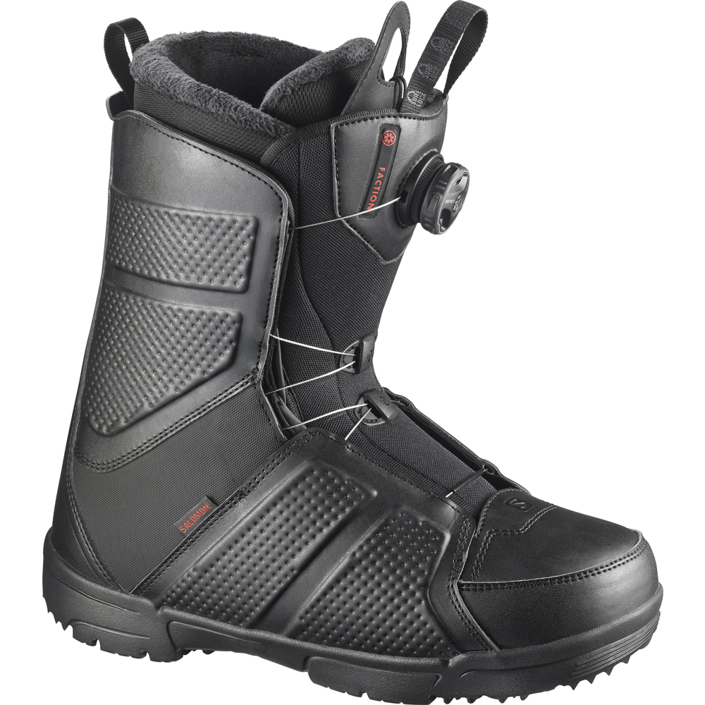 Ботинки для сноуборда SALOMON 2017-18 FACTION BOA BLACK - купить ... 591b513e64a