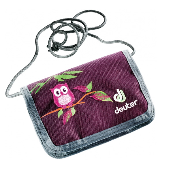 Кошелек Deuter 2016-17 Chest Wallet Aubergine-Magenta