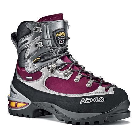 Купить Ботинки для альпинизма Asolo Alpine Lhotse GV ML Grapeade-Silver, Альпинистская обувь, 734106
