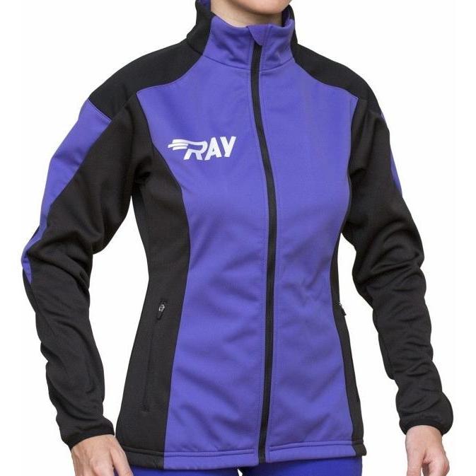 Куртка Беговая Ray 2018-19 Pro Race Фиолетовый/черный