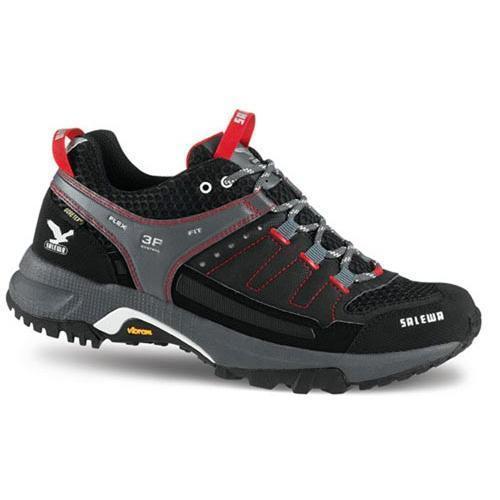 Купить Ботинки для треккинга (низкие) Salewa Viper MS VIPER CUSHION GTX Black/Red Треккинговая обувь 611662