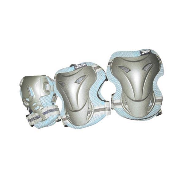 Купить Комплект 3-х элементов защиты TEMPISH 2016 JOLLY 3-set (knee+elbow+wrists) синий, Защита, 1178538