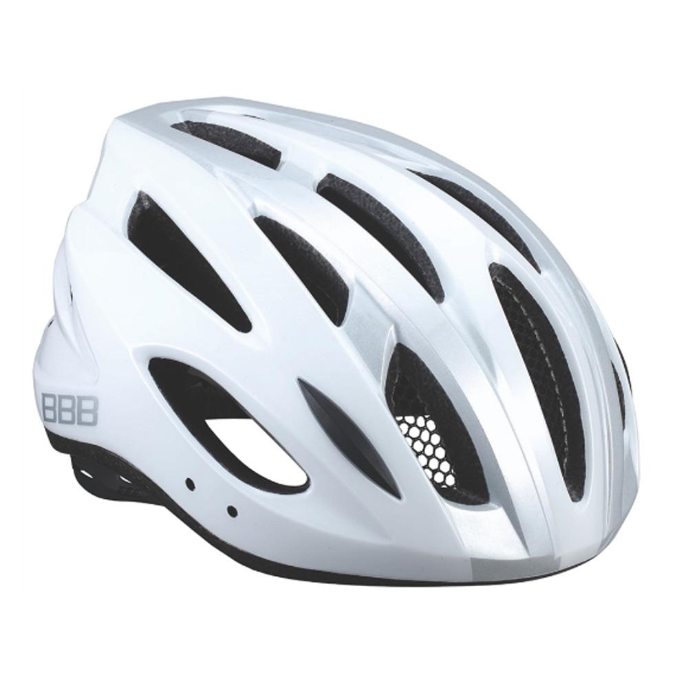 Велошлем Bbb 2018 Condor Белый/серебрянный