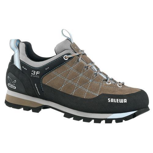 Купить Ботинки для альпинизма Salewa Alpine Approach WS MTN TRAINER Светло-коричневыйГолубой, Обувь города, 742069