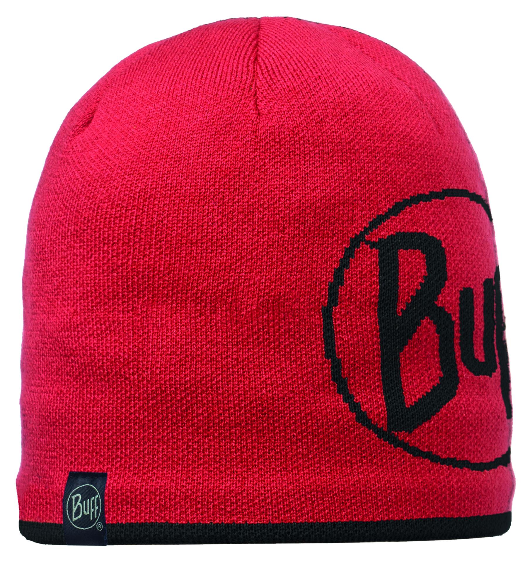 Купить Шапка BUFF KNITTED HATS LOGO RED Банданы и шарфы Buff ® 1169413
