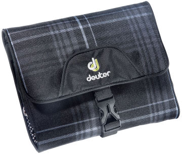 Косметичка Deuter Wash Bag I black check
