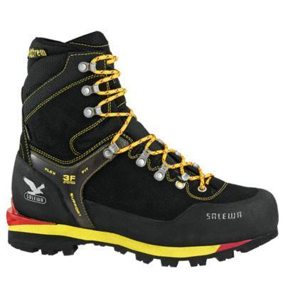 Купить Ботинки для альпинизма Salewa Mountaineering MS BLACKBIRD INSULATED GTX (W) ЧерныйЖелтый, Альпинистская обувь, 742084