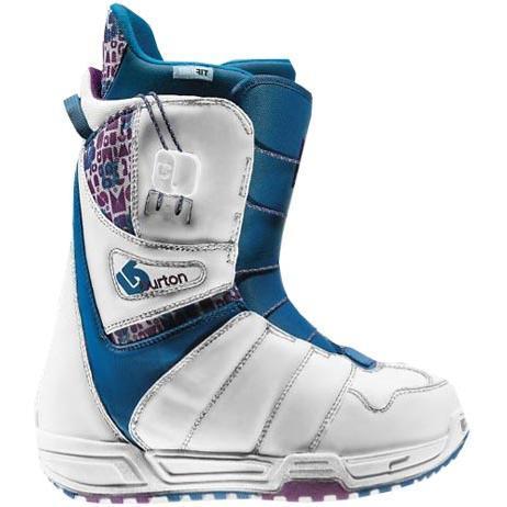 Купить Ботинки для сноуборда BURTON 2009-10 MINT WHT/PUR/BLU, сноуборда, 618298
