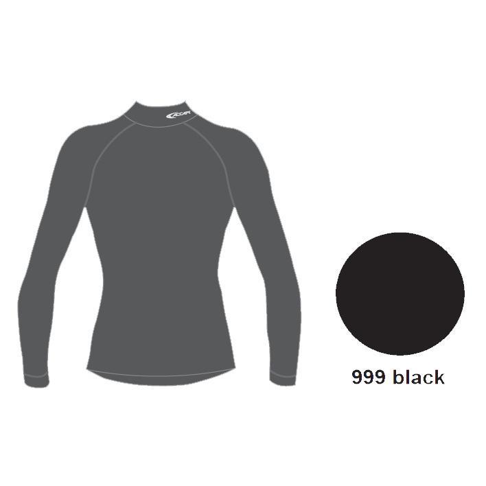 Футболка С Дл. Рукавом Accapi Techosoft Plus Evo Long Sl.lupetto Man Black