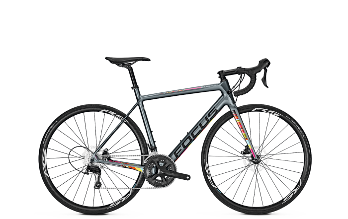 Велосипед Focus Izalco Race Disc 105 2018 Battle Grey