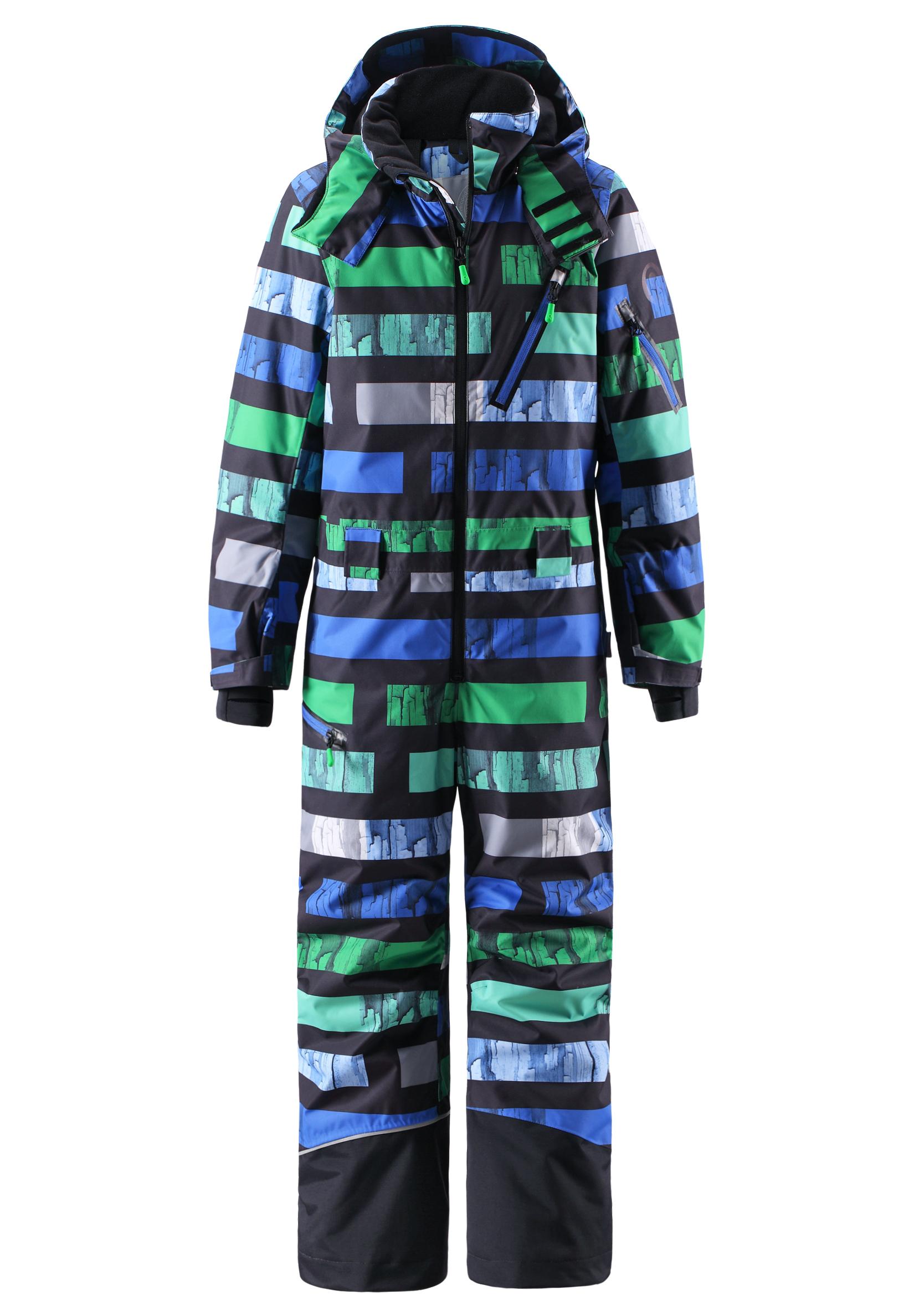 Комбинезон горнолыжный Reima 2015-16 Snowfall black Детская одежда 1197408  - купить со скидкой