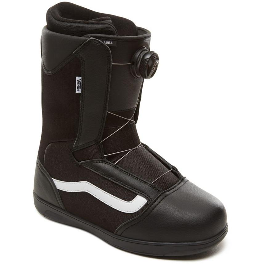 Ботинки для сноуборда VANS 2018-19 AURA Black White - купить ... b510cc82433