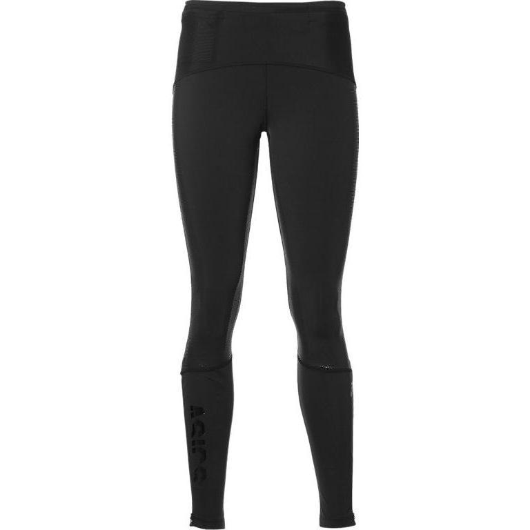 Купить Брюки Беговые Asics 2017-18 Fujitrail Tight Черный, женский, Одежда для бега и фитнеса
