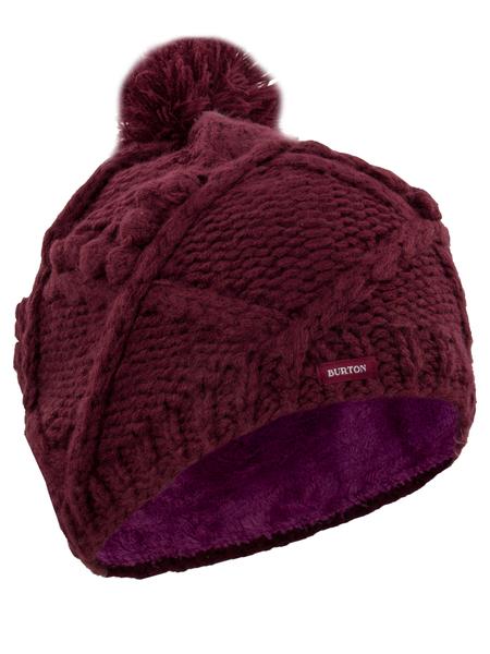 женская шапка burton