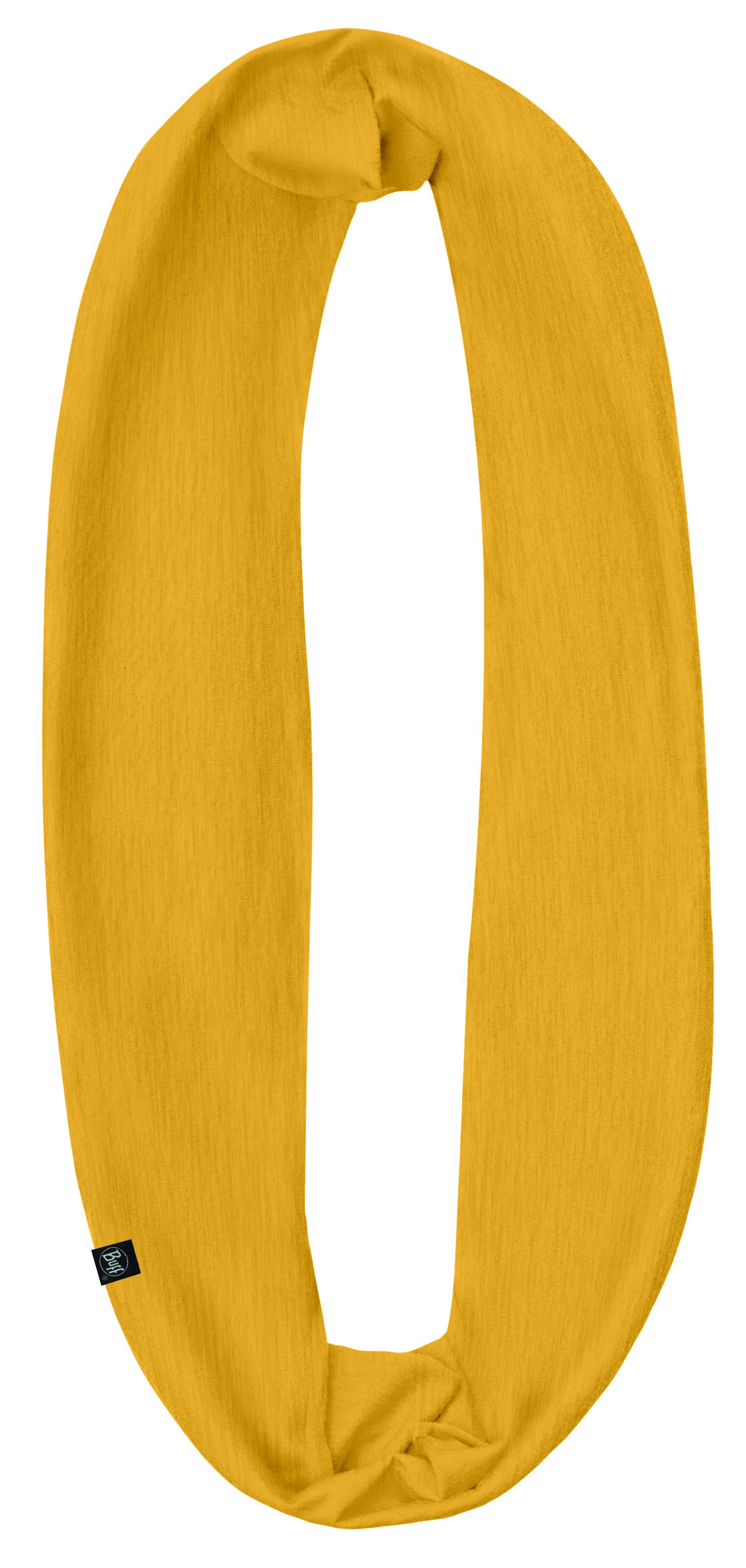 Шарф BUFF INFINITY SOLID MUSTARD Банданы и шарфы Buff ® 1312912  - купить со скидкой