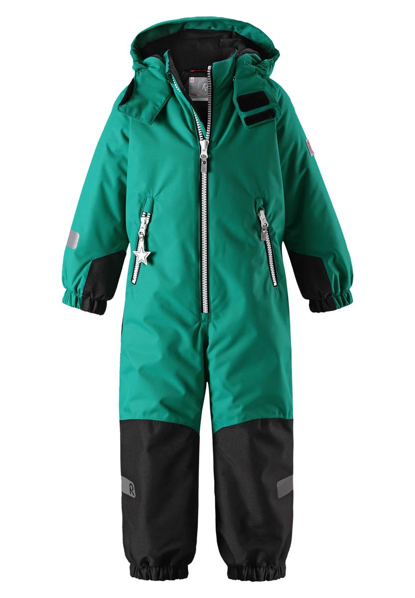 Комбинезон горнолыжный Reima 2017-18 Finn Green Детская одежда 1351631  - купить со скидкой