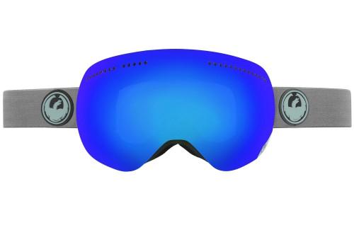 Купить Очки горнолыжные DRAGON 2014-15 APX GreyMatter/DkSmkBlu+YellBl, горнолыжные, 1134833