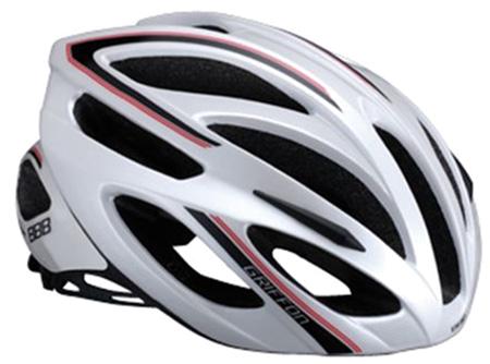 Купить Летний шлем BBB Griffon white red, Шлемы велосипедные, 713503