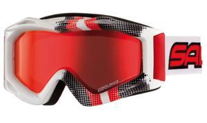 Купить Очки горнолыжные Salice 600DARWS Graffiti Red/RW Red 845816