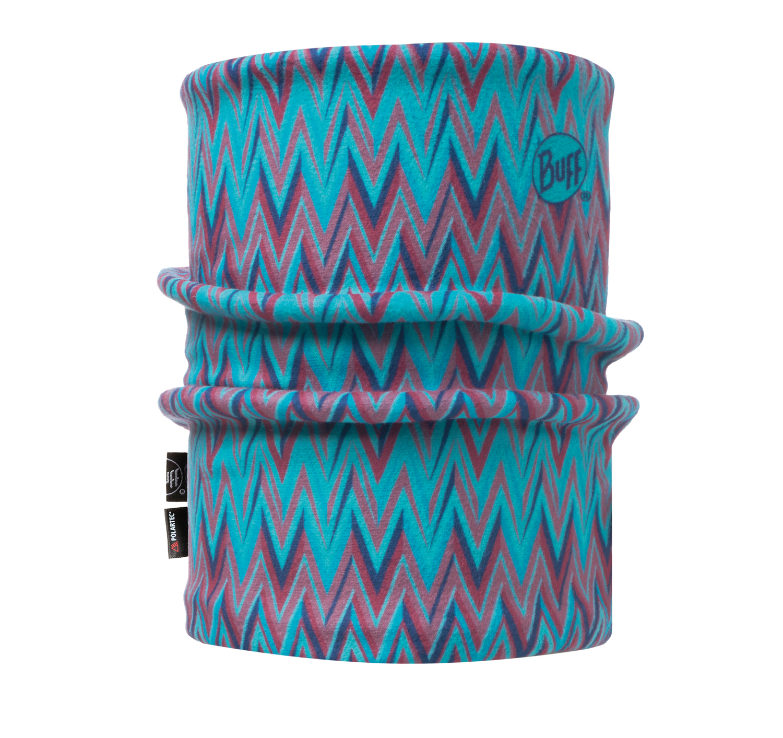Купить Бандана BUFF REVERSIBLE POLAR NECKWARMER ZIGGY BLUE CAPRI Банданы и шарфы Buff ® 1378273