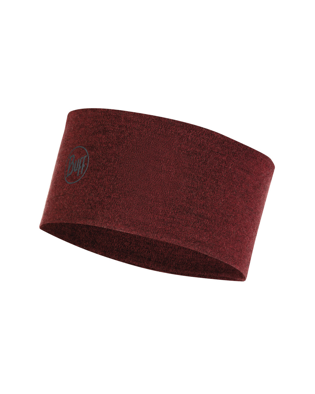 Повязка Buff 2L Midweight Merino Wool Headband Wine Melange