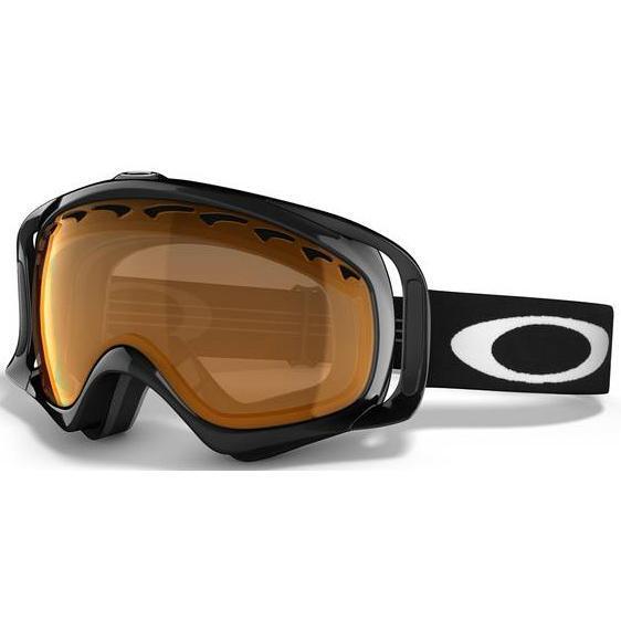 Очки горнолыжные Oakley CROWBAR JET BLACK/PERSIMMON 618861  - купить со скидкой