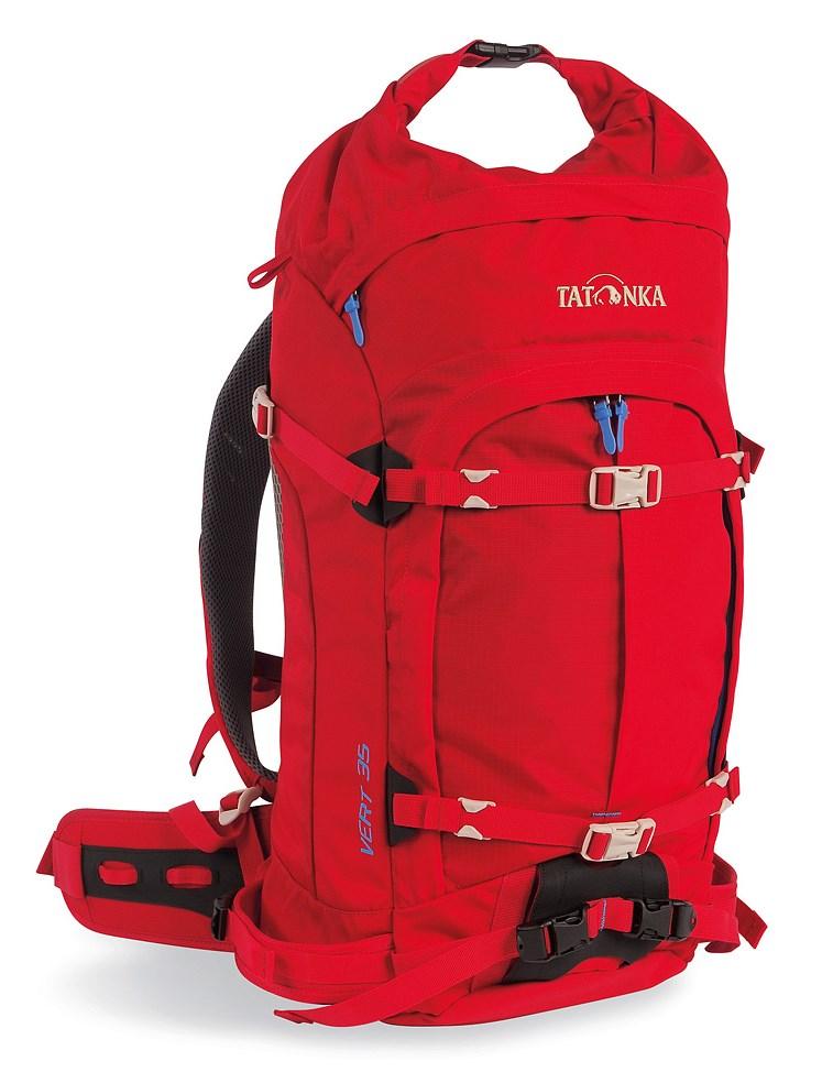 женский рюкзак tatonka, красный