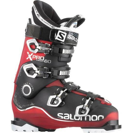 Купить Горнолыжные ботинки SALOMON 2014-15 All-Mount. Frontside X Pro 80 Red Translucent/Black, Ботинки горнoлыжные, 1141943