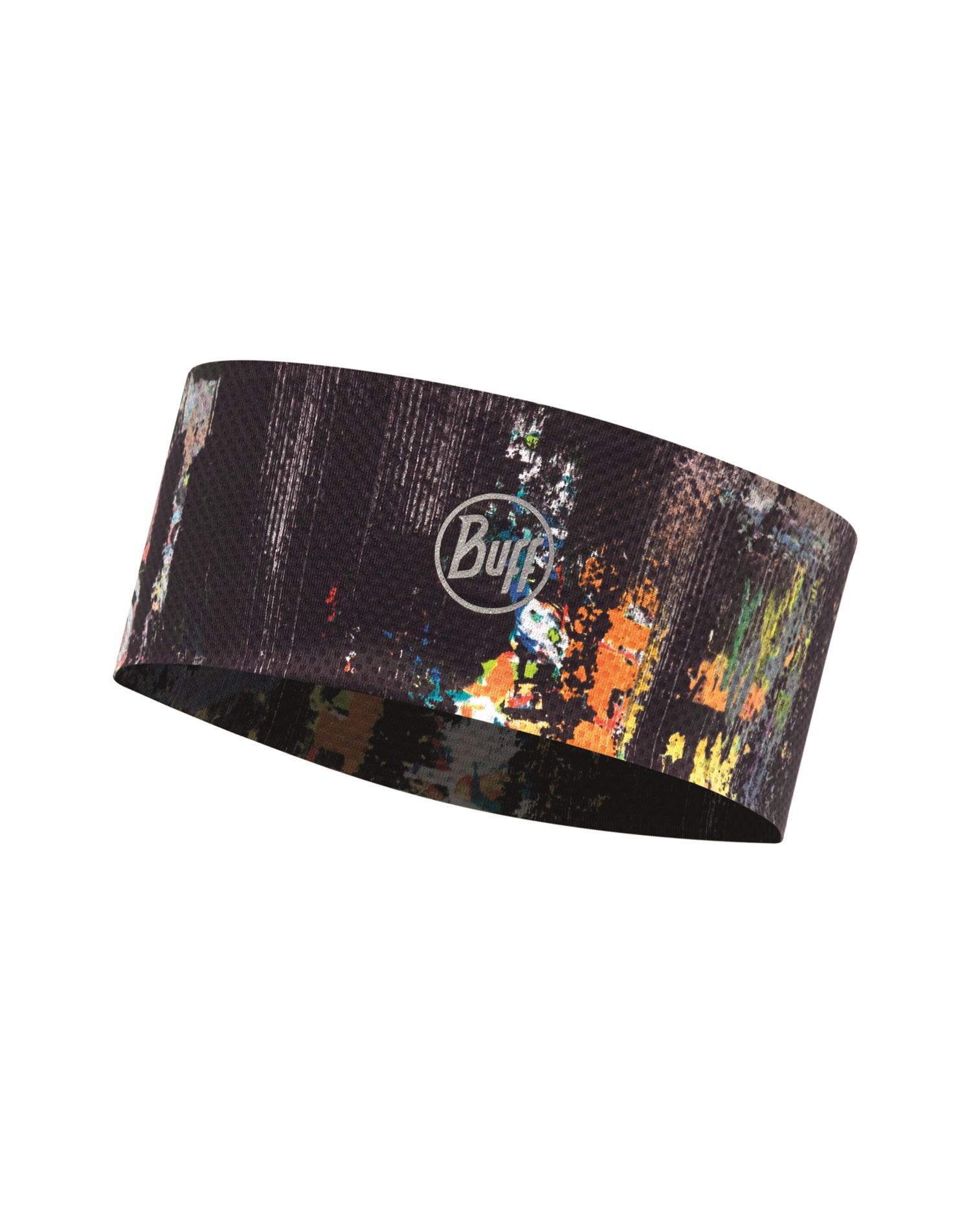 Купить Повязка BUFF FASTWICK HEADBAND R-GRAFFITI BLACK, Банданы и шарфы Buff ®, 1340771