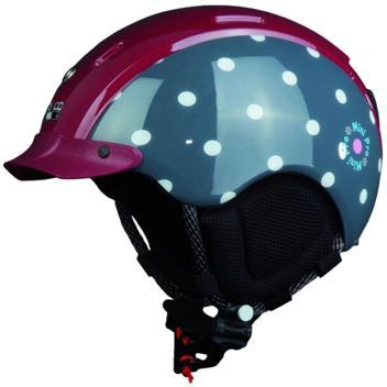 Зимний Шлем Casco MINI PRO DOTS RED