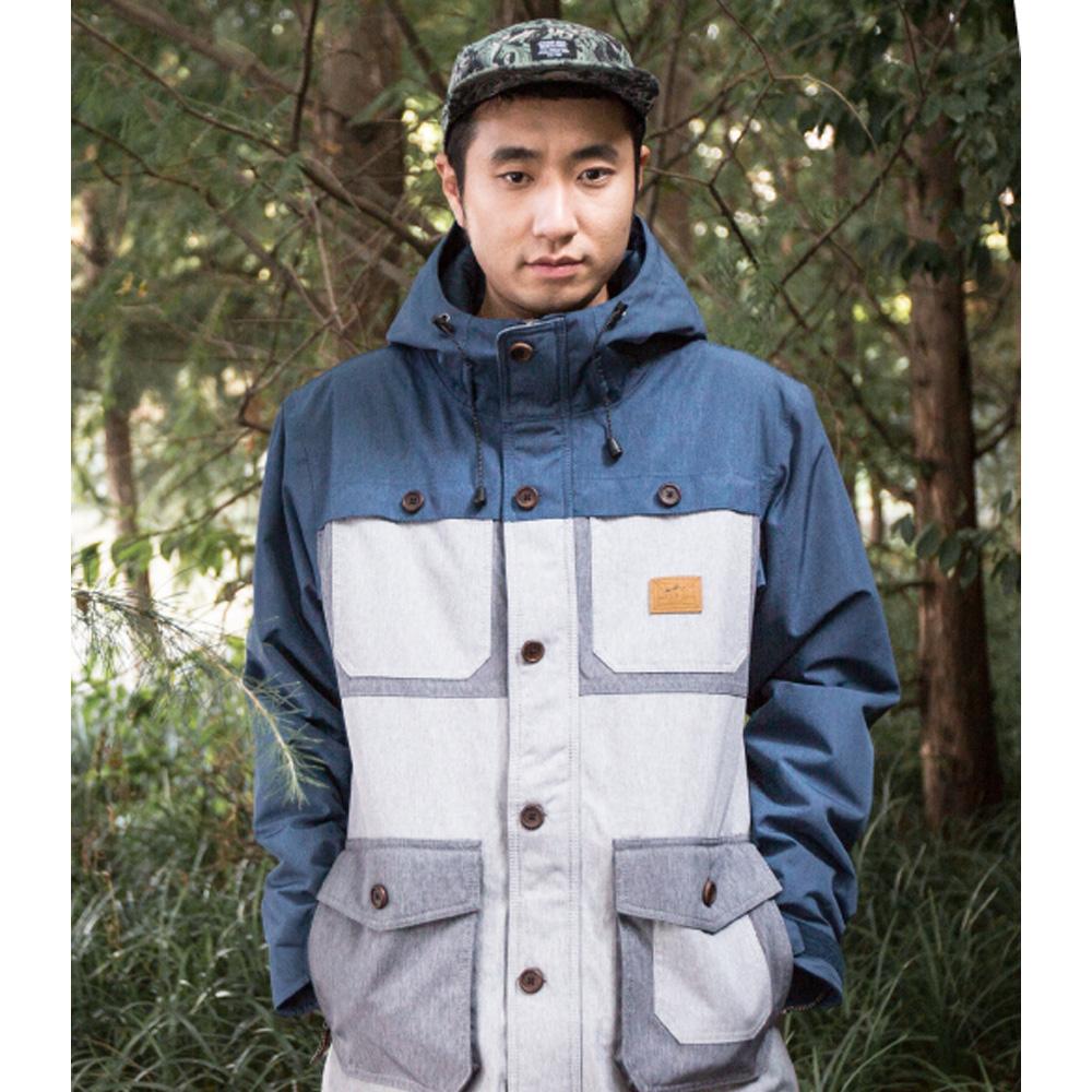 Куртка Сноубордическая Romp 2016-17 540 Jacket Navy/gray