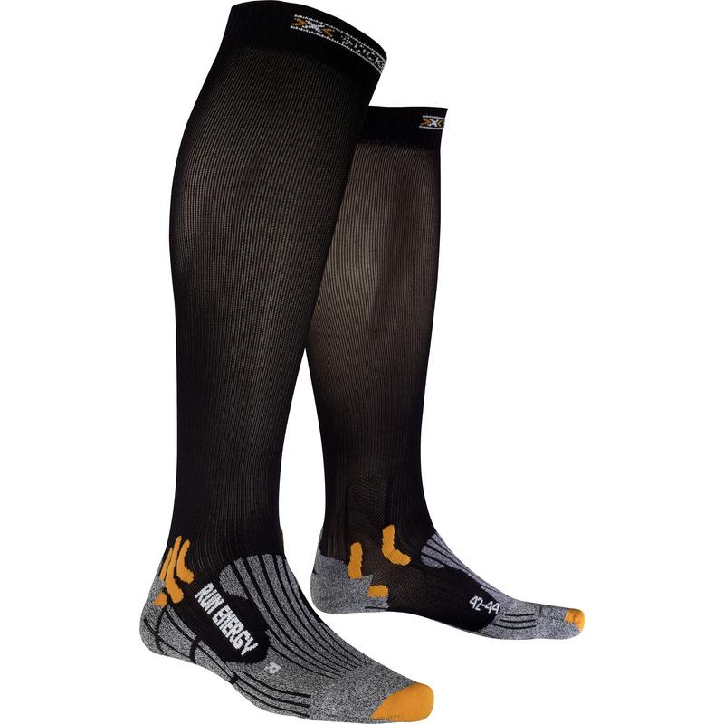 Купить Носки X-Bionic 2017 X-SOCKS RUN ENERGIZER Черный 1277658