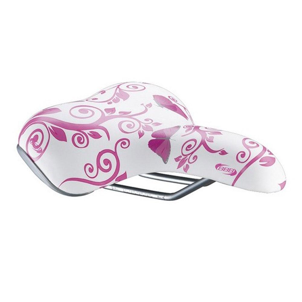 Купить Седло Bbb Saddle Sports Designcomfort Butterfly Pink B/fly Pink, женский, Седла и подседельные штыри