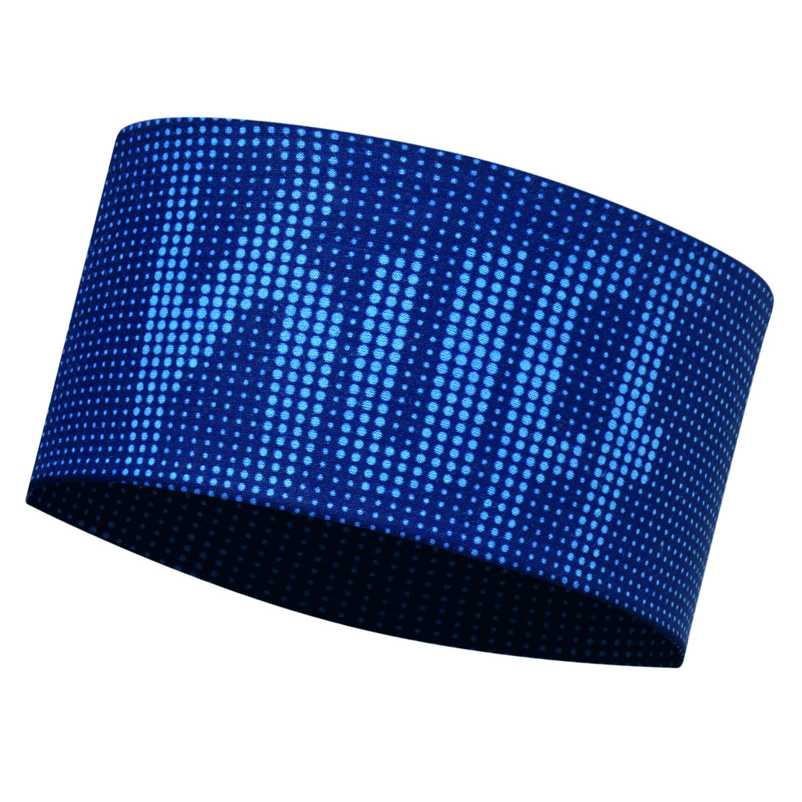 Повязка BUFF Headband DEEP LOGO DARK NAVY Банданы и шарфы Buff ® 1312845  - купить со скидкой