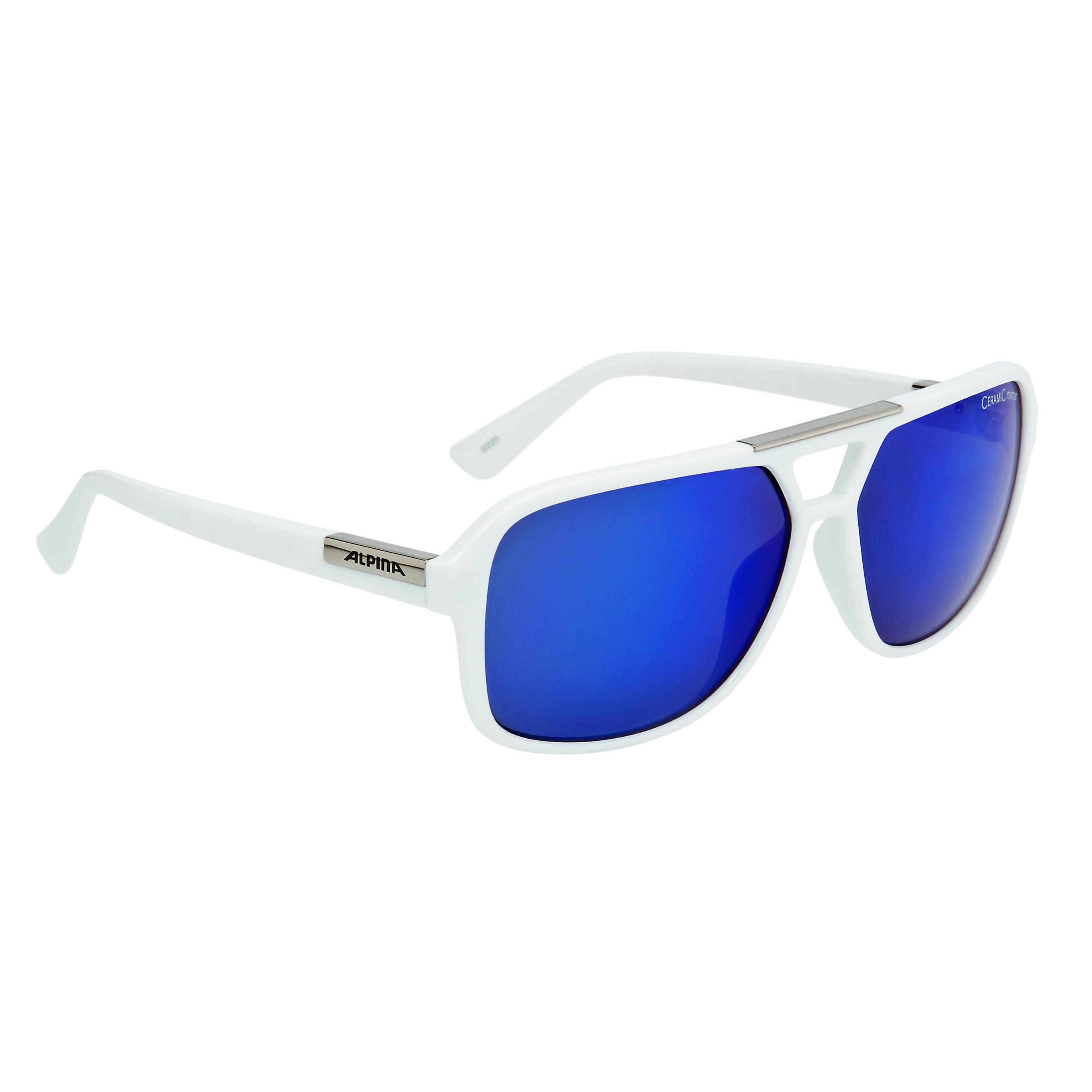 Купить Очки солнцезащитные Alpina SPORT STYLE SIZZO white, солнцезащитные, 1180603