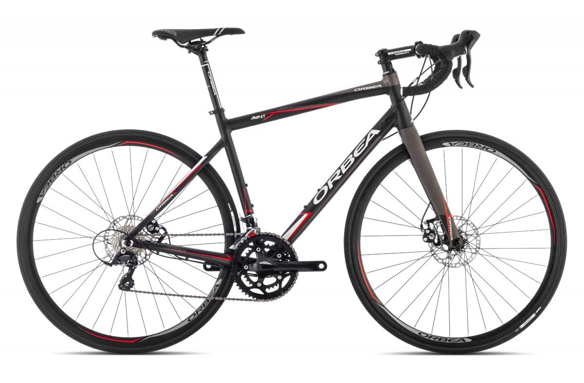 Купить Велосипед ORBEA AVANT H30D 2015 Черный-Красный / Черный-Красный, Шоссейные, 1253970