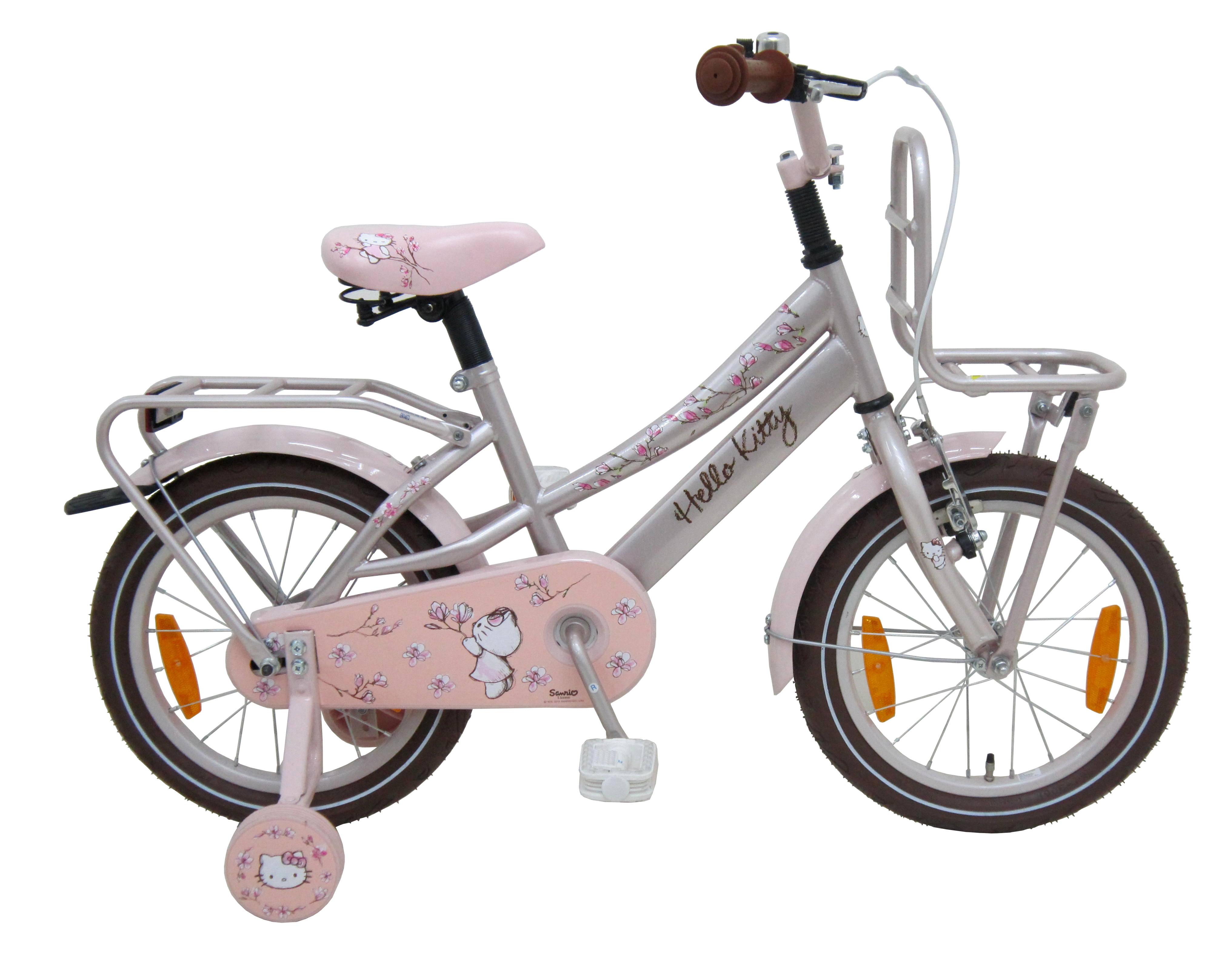 Велосипед Volare Hello Kitty Romantic 2014 Бежевый