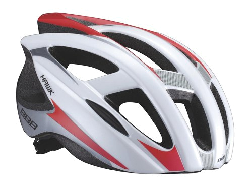 Купить Летний шлем BBB Hawk white red L, Шлемы велосипедные, 713303