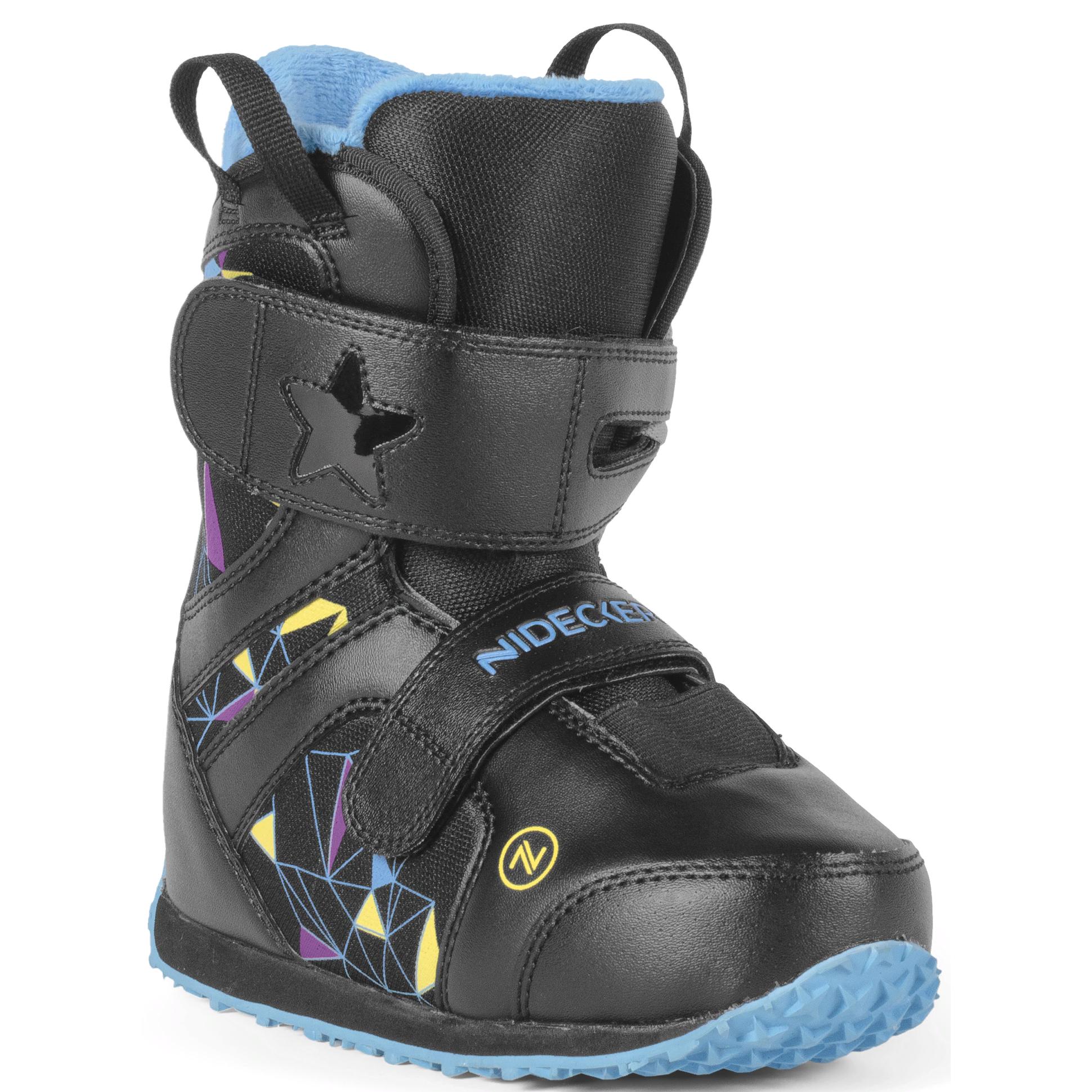 Ботинки для сноуборда NIDECKER 2017-18 MINI PLAYER BLACK - купить ... f5ca763f58b