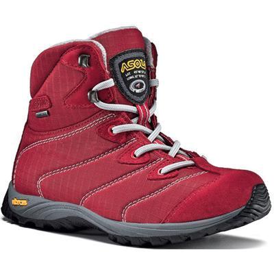 Купить Ботинки для треккинга (высокие) Asolo Junior Dragon GV Red-Red Треккинговая обувь 757706