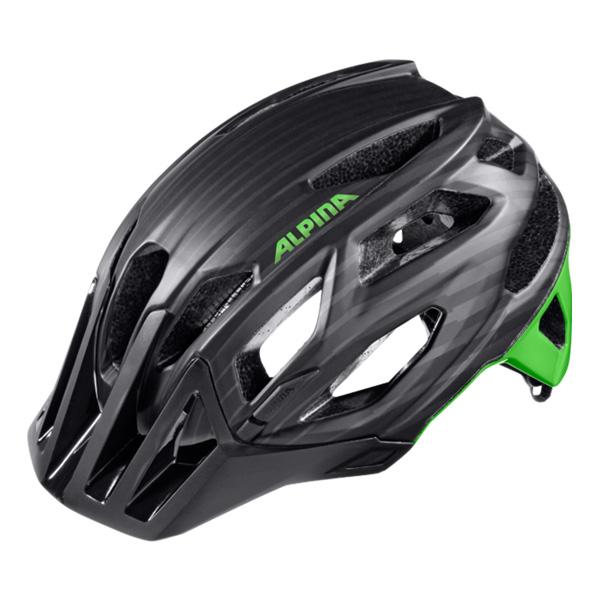 Купить Летний шлем Alpina 2016 Enduro Garbanzo black-green, Шлемы велосипедные, 1254691